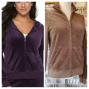 Juicy Couture Brown Track Jacket